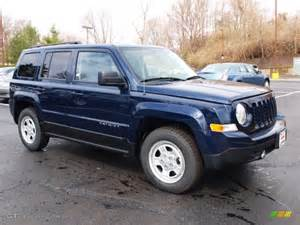 Blue Jeep Patriot True Blue Pearl 2012 Jeep Patriot Sport Exterior Photo