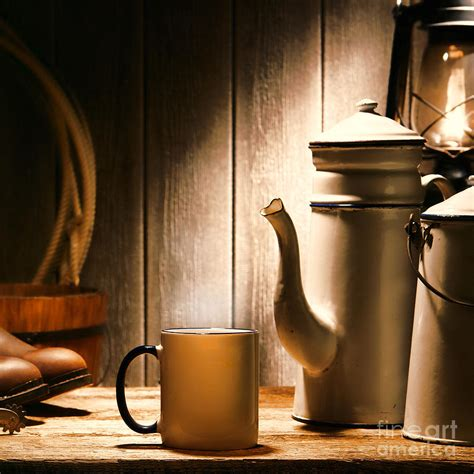 Coffee Olivier cowboy coffee photograph by american west decor by