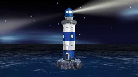 light house at lighthouse 3d puzzle at