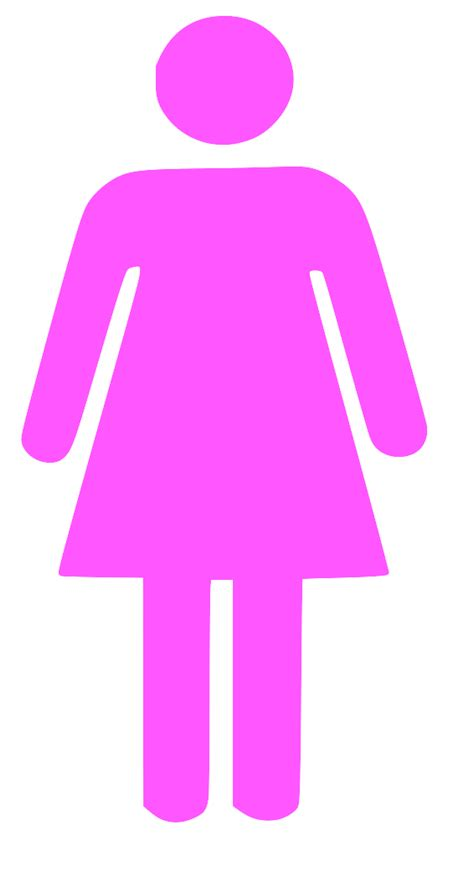 Womens Bathroom Symbol by Sign Clipart Best