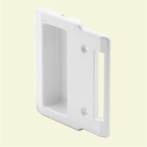 sliding screen door pull prime line white sliding screen door pull a 208 the home