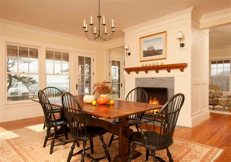 dining table in front of fireplace the trestle dining table a style that never dies