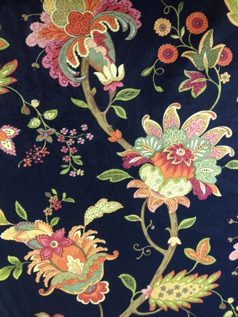 black floral upholstery fabric vibrant floral and black fabric upholstery fabric by the