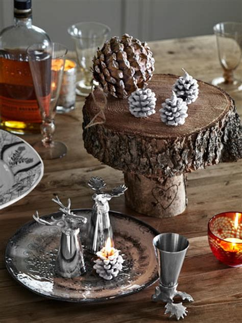 fresh pine centerpiece  holiday family holidaynet