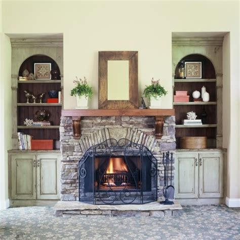 turn fireplace into bookshelf add corbels to a fireplace mantel turn a simple mantel