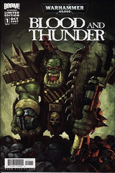 Blood And Thunder Warhammer 40000 warhammer 40 000 blood and thunder 1 c oct 2007 comic