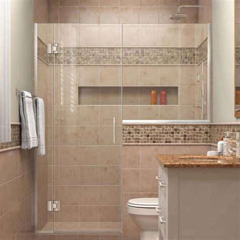 Shower Door Parts Store Dreamline Unidoor X 53 In To 53 1 2 In X 72 In Frameless Pivot Shower Door In Chrome With