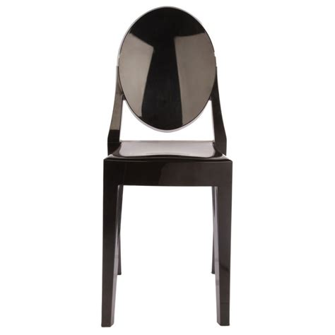 Ghost Dining Chairs Set Of 4 Style Ghost Dining Chair Black Color