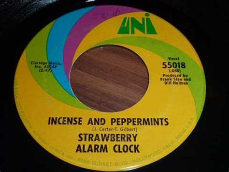 Incense And Peppermints Strawberry Alarm Clock by Strawberry Alarm Clock Quot Incense And Peppermints Quot 45rpm