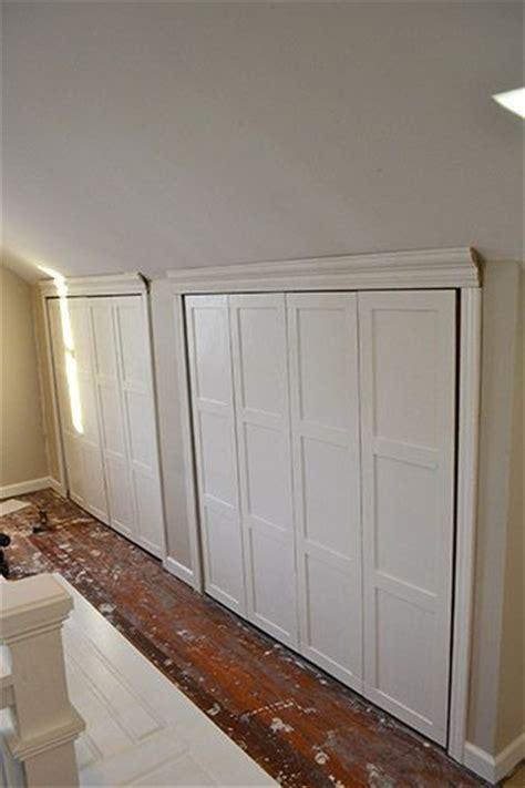 Knee Wall Closet Ideas by Adding Closets To Knee Wall Attic Upstairs Ideas