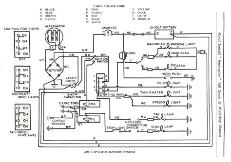2003 royal enfield bullet 500 wiring diagram wiring