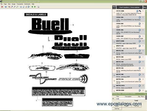 Harley Davidson Parts Catalog by Harley Davidson Buell Partsmart Parts Catalog