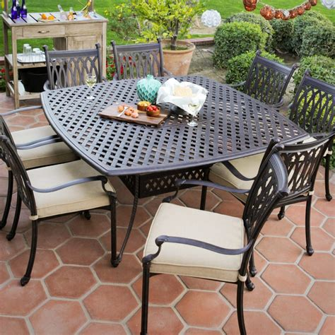 Metal Patio Dining Sets Furniture Metal Mesh Patio Chairs And Mesh Metal Selfieword Retro Metal Outdoor Dining Set