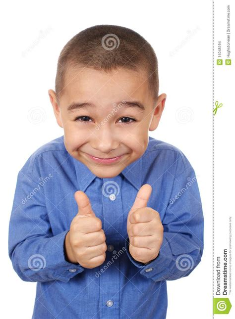 Thumbs Up Kid Meme - kid smiling giving thumbs up stock photo image 14045194