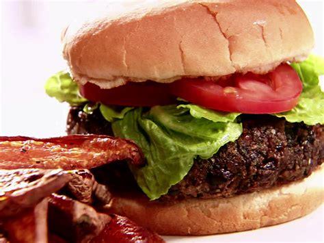 black bean burgers recipe sandra lee food network
