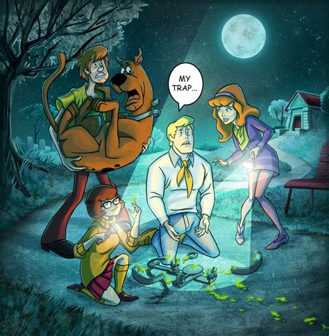 scooby doo painting free scooby doo mystery incorporated by mcguinnessjohn on
