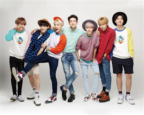 got7 group photo got7 members profile updated