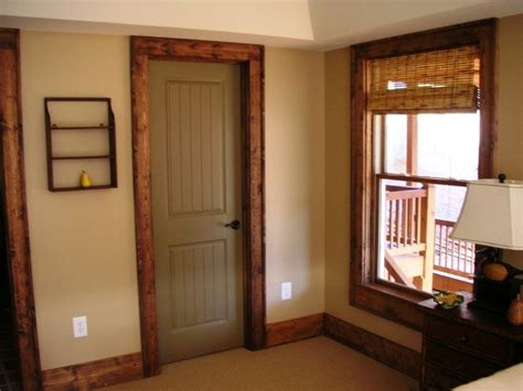 We Are Going To Stain Most Of Our Interior Trim From White Staining Wood Doors Interior
