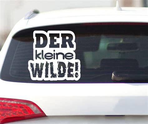 Auto Aufkleber Kind by Autoaufkleber Der Kleine Wilde Shocker Aufkleber Kinder