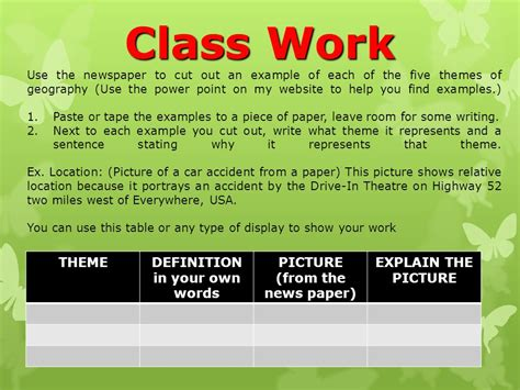 theme definition in your own words definition in your own words ppt video online download