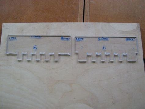 finger joint template jigs etc 4 snakes and ladders hinge template routing