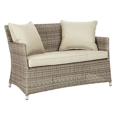 2 seater outdoor sofa buy john lewis dante 2 seater outdoor sofa john lewis