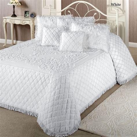 Cotton Bedspreads Lilian Cotton Chenille Bedspread Bedding