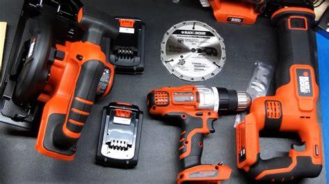 black decker tool kit black decker 4 tool combo kit unboxing