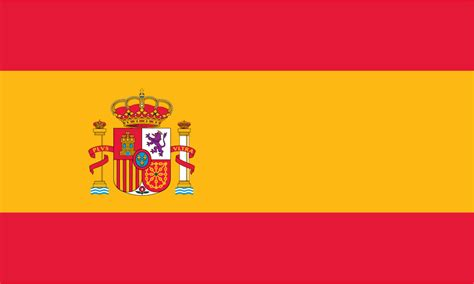 4 Best Images Of Printable Spain Flag Spain Spanish Flag Spain Flag Template