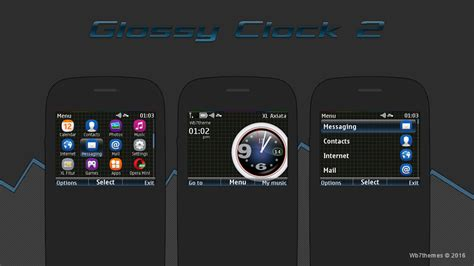 ownskin themes nokia 6120c themes clock for nokia s40 auto design tech