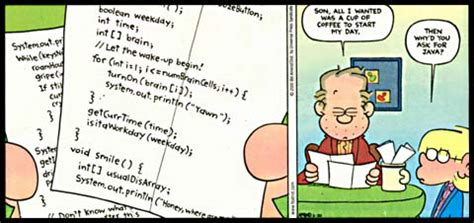 careful what you ask for… | garfield computer science