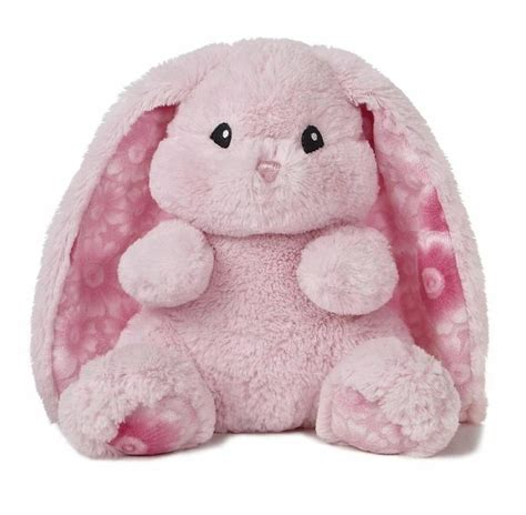 10 quot aurora plush pink bunny rabbit lopsie wopsie easter
