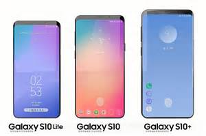 Samsung Galaxy S10 4 Models by Best New Galaxy S10 Features To Expect