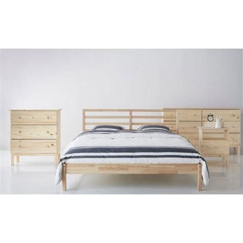 tarva bed frame ikea tarva queen size bed frame solid pine wood brown