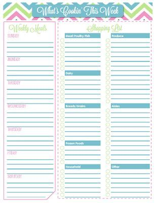 organized home printable menu planner 17 best images about tips tricks bright ideas on