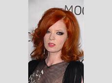 Shirley Manson Wavy Ginger Bouffant, Sideswept Bangs ... L'oreal Hair Products