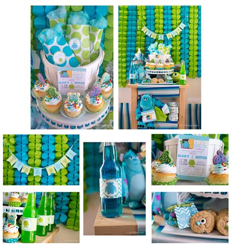 monsters inc baby shower ideas printable monsters inc inspired baby shower by