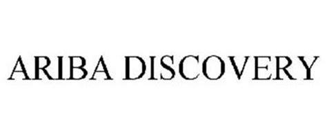 ariba discovery trademark of ariba inc serial number