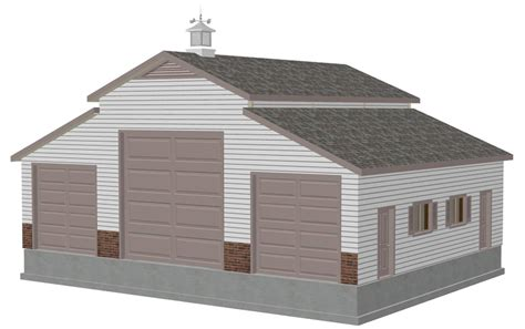 barn workshop plans free sle barn plan download g197sds 36 x 46 barn plan