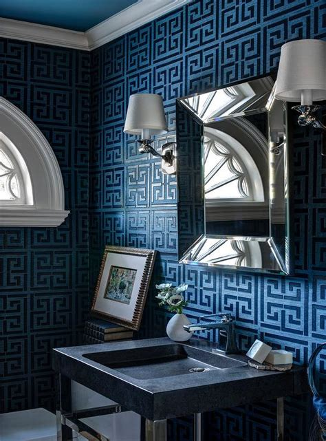 greek bathroom ideas bathroom greek key wallpaper design ideas