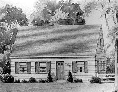 Cape Cod Cottage Plans levittown pa building the suburban dream