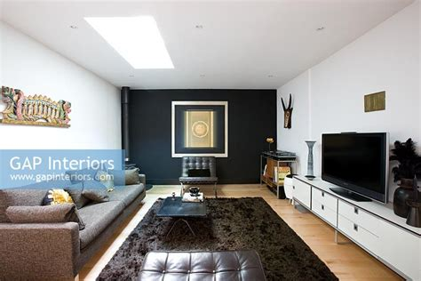 black feature wall living room black feature wall living room peenmedia