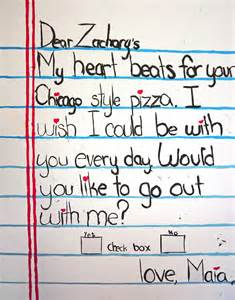 Break Letter Contest love letter to zachary s check yes or no maia vuminnich 2011 sr