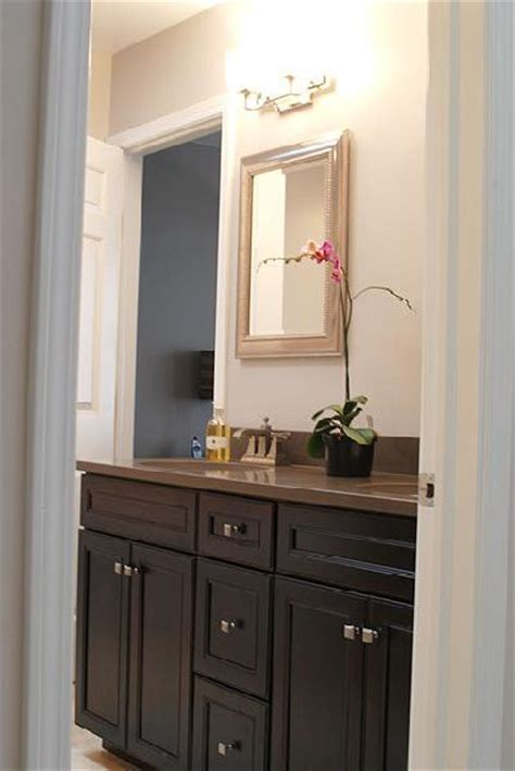 brown painted bathroom cabinets brown painted cabinets contemporary bathroom