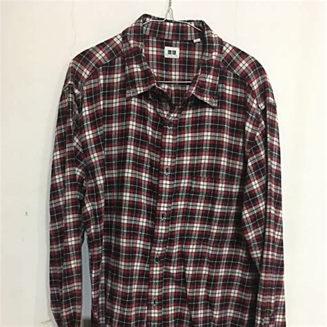 Kemeja Uniqlo kemeja flanel uniqlo original s fashion s
