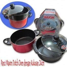 Harga Panci Maspion Oven harga panci maxim oven dengan kukusan 24cm