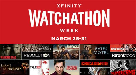 Watchathon Sweepstakes - movie tv archives the buzz digger