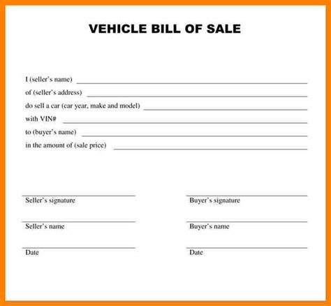 Sle Letter Of Agreement For Car Sale 9 car sale agreement word doc dialysis