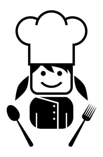 Biblioteca de vetores Chef de cozinha, ilustrações Chef de