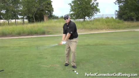 golf swing for fat guys golf drills stop hitting fat shots youtube